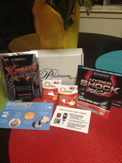 Fitbox by Platinum Box Giveaway (Ends 4/16)