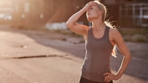 frustrated runner